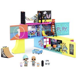L.O.L. Surprise! Clubhouse Playset with 40+ Surprises and 2 Exclusives Dolls