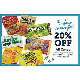 20% Off Candy - Christmas Tree Shops and That! - Home Decor, Furniture & Gifts Store