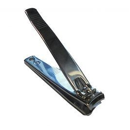 Toenail Clippers for Feet & Hands - Stainless Steel, Curved Cut
