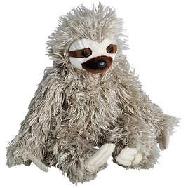 Wild Republic Cuddlekins, Sloth, 12 Inches, Gift for Kids, Gift for Nature Lovers