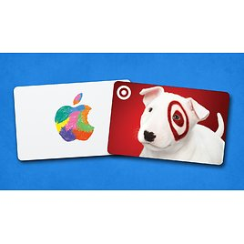 Free $10 Target EGift Card w/ $100 Apple ITunes Gift Card Purchase