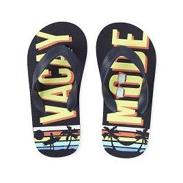 The Childrens Place Boys Vacay Mode Flip Flops