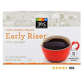 365 Everyday Value, Early Riser Coffee Capsules, 12 Ct