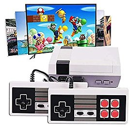 HUIYE Classic Game Handheld Video Game Consoles with Built in Games Back Family 620 Av Mini Controllers Output
