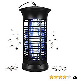 FBMPTA Bug Zapper Mosquito Killer, Flying Insect Killer Indoor, Fly Traps, Mosquito Lamp, Insect Zappers, Electric Mosquito Attractant Trap Plug in for Home, Patio, Garden (Round)