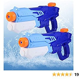 Water Toys, Water Guns for Adults Kids, Outdoor Water Toys for Kids Ages 4-8, RAESOOT Pool Toys for Kids 3-10 (600cc 2 Pack)