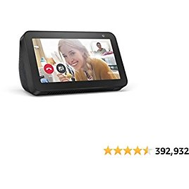 Echo Show 5 (1st Gen, 2019 Release) - Smart Display with Alexa – Stay Connected with Video Calling - Charcoal