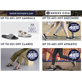 Up to 60% Off Select Styles + 25% Off Sitewide
