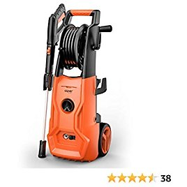 AIPER SMART Pressure Washer 2150 PSI 1.85 GPM Electric Power Washer 1800W High Pressure Washer with Adjustable Nozzle,Hose Reel for Cars/Fences/Patios/Driveway Cleaning