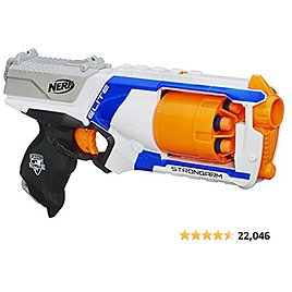 Nerf N Strike Elite Strongarm Toy Blaster With Rotating Barrel, Slam Fire, And 6 Official Nerf Elite Darts For Kids, Teens, And Adults(Amazon Exclusive)