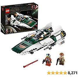 LEGO Star Wars: The Rise of Skywalker Resistance A Wing Starfighter 75248 Advanced Collectible Starship Model Building Kit (269 Pieces)