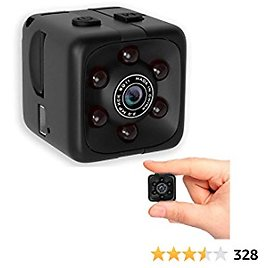 Mini Wireless 1080P Security Camera Motion Activated Small Indoor Outdoor Nanny Cam for Cars Home Apartment (Exclude SD Card) (Small Camera)