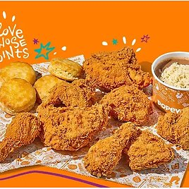 Welcome To The Popeyes Family Meal + 500 Bonus Points