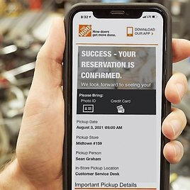 The Home Depot Launches Online Rental Reservations