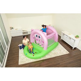 Over Oinkster Pig Bouncer and Ball Pit