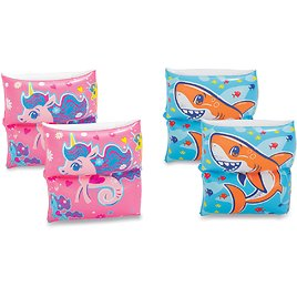 Play Day Inflatable Printed Armband Pool Floats