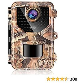 """【2021 Upgrade】 1080P Up to 2.7K, 20MP Trail Camera Game Cameras Hunting Camera, IP66 Waterproof with 940nm No Glow Night Vision, 2.4"""" LCD 120°Detecting Range 0.2s Trigger Time Newest Sensor"""