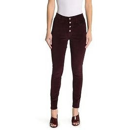 Levi's 721 High Rise Button Front Skinny Corduroy Pants