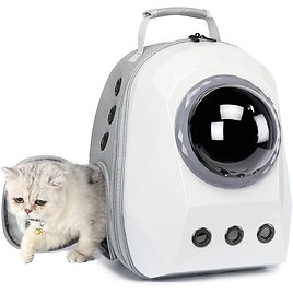 UOOPET Space Capsule Cat Carrier Backpack (2 Colors)