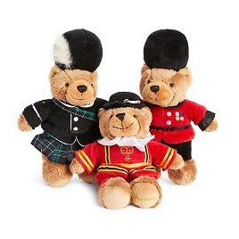 Beefeater Piper Guard Bean Toy Set