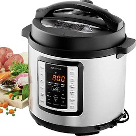Insignia 6qt Multi-Function Pressure Cooker - Stainless Steel