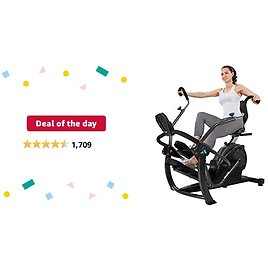 Deal of The Day: Teeter FreeStep Recumbent Cross Trainer and Elliptical