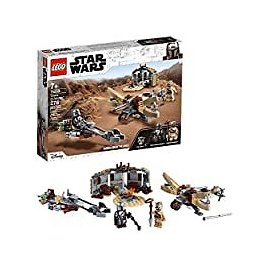 LEGO Star Wars: The Mandalorian Trouble On Tatooine Toy Building Kit for $24.00