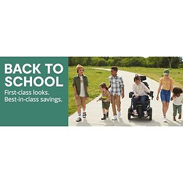 """Up To 60% Off """"Back To School Sale"""" + Extra 25% Off"""