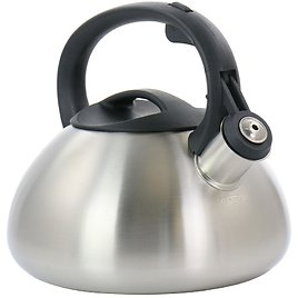 Mr. Coffee Harpwell 1.8qt. Stainless Steel Whistling Tea Kettle
