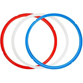 3-Pack House Again 8 Qt Presure Cooker Silicone Seal Ring Replacement for $5.99