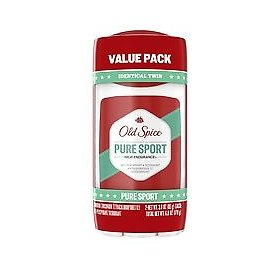 Old Spice High Endurance Invisible Solid Antiperspirant and Deodorant Pure Sport