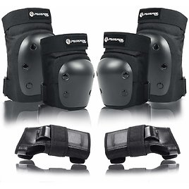 Purpol Skateboard Elbow and Knee Pads for $14.29