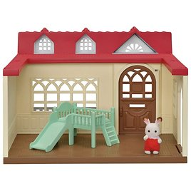 Calico Critters Sweet Raspberry Home Dollhouse Playset