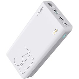 Romoss 30000mAh 18W Fast Charge Type-C PD Portable Power Bank for $21.95