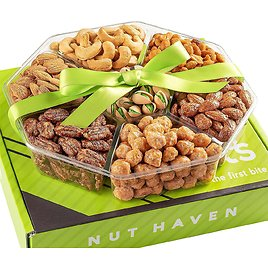 Nut Haven Fresh Sweet & Salty Dry Roasted Gourmet Gift Basket for $12.97