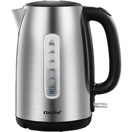 Comfee' 1.7-Liter 1500W Stainless Steel Cordless Electric Kettle for $19.99