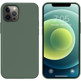 Ouxul 6.1 Inch Silicone Gel Rubber Protective Case for IPhone 12 /12 Pro for $12.89