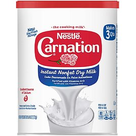 6-Count Carnation Instant Nonfat Dry Milk, 9.63 Ounce for $13.63