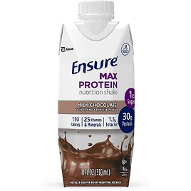 12-Count Ensure Max Protein Nutrition Shake with 30g of Protein for $17.98