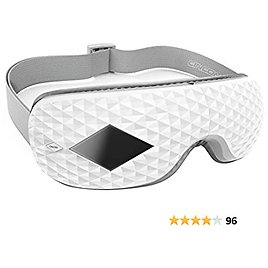CINCOM Eye Massager with Heat, Air Compression, Bluetooth Music, Rechargeable Infrared Eye Massager for Relieve Dry Eyes Eye Fatigue Dark Circles Improve Circulation and Sleep Quality