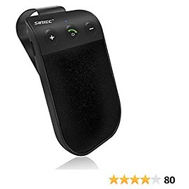 SUNITEC Handsfree Bluetooth for Cell Phone Car Kit - Bluetooth 5.0 Car Speaker AUTO Power ON Support Siri Google Assistant Voice Guidance Bluetooth Receiver for Cars Handsfree Speakerphone - BC936SA