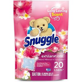 20-Count Snuggle Scent Boosters In-Wash Laundry Scent Pacs for $2.90
