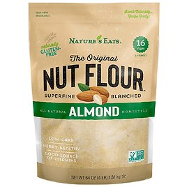 Natures Eats Blanched Almond Flour 64 Oz for $14.99