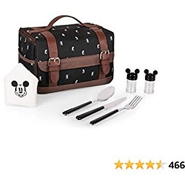Disney Classics Mickey Mouse Insulated Lunch Cooler with Service for One