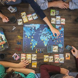 Pandemic Board Game (Base Game) | Family Board Game | Board Game for Adults and Family | Cooperative Board Game | Ages 8+ | 2 to