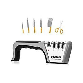 Enowo 4 Stage Premium Knife Sharpeners for $5.91
