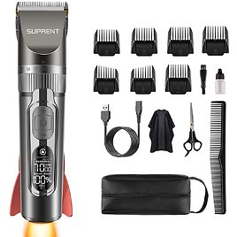 Roll Over Image to Zoom in SUPRENT Hair Clippers for Men $23.39