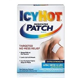 Icy Hot Extra Strength Medicated Patch, Small, 5 Count Box $5.98