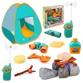 GrowthPic Kids Camping Play Tent $15.84