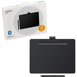 Wacom Intuos Wireless Graphics Drawing Tablet for Mac, PC, Chromebook & Android $149.95